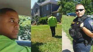 Cop Racially Profile Black Men In Affluent Neighborhood;Cop Embarrassed After Viewing Property