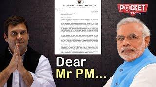 Rahul Gandhi seeks PM Modi
