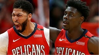 Anthony Davis and Jrue Holiday Combine for 88 POINTS As The Pelicans Advance To The 2nd Round