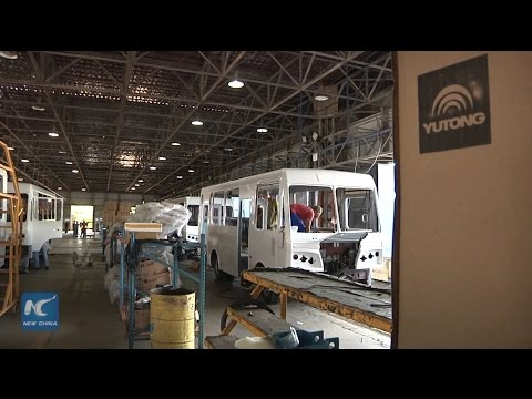 Chinese bus producer Yutong integrated into Cuba's transport system