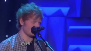 Ed Sheeran- All Of The Stars Live On Ellen