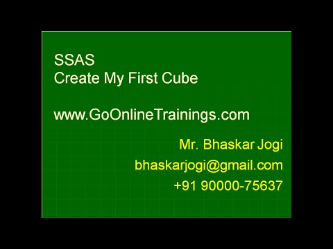 SSAS Part8 - Create My First Cube