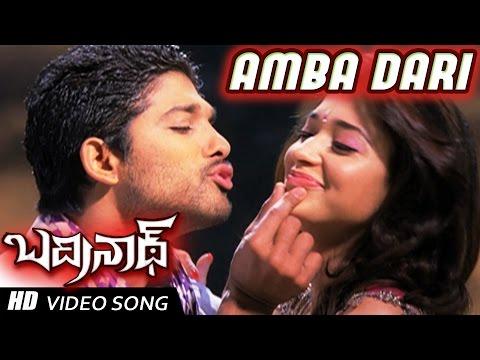 Xxx Mp4 Ambadari Full Video Song Badrinath Movie Allu Arjun Tamanna 3gp Sex
