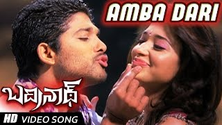 Ambadari Full Video Song | Badrinath Movie | Allu Arjun, tamanna