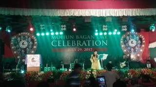 Amader Surya Merun full song By Mekhla Dasgupta on Mohunbagan Day,2017