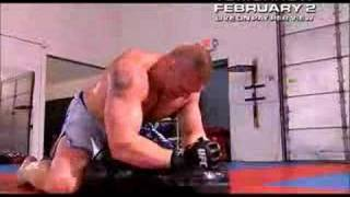 UFC 81 - Brock Lesnar's UFC Debut