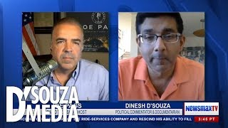 SO SATISFYING: Dinesh D'Souza lambasts Antifa and BLM for fascist acts