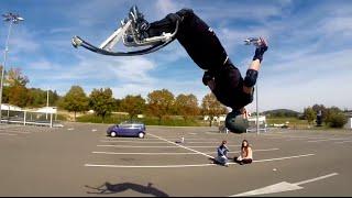 Échasses Urbaines / Jumping stilts / Powerbocking : Street freestyle & Flat 2014