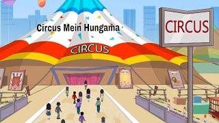 Pyaar Mohabbat Happy Lucky - Episode 89 | Circus Mein Hungama | Animated Series