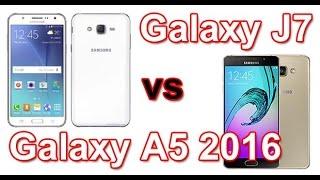 Samsung Galaxy A5 2016 e Samsung Galaxy J7 - Análise e especificações
