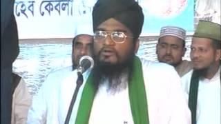 amazing bangla waz by ALLAMA SAYED SHAMSHUDDUHA BARI-darbare baria sharif,chittagong