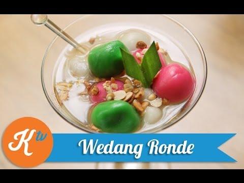 Resep Wedang Ronde (Hot Dessert - Ginger Drink With Mochi Balls Recipe Video)   MELATI PUTRI