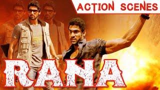 Rana Daggubati - All Action Scenes - Marzi the Power (Naa Ishtam) Movie