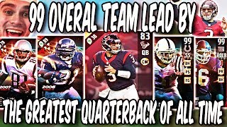 Best Quarterback in The Game! Savage Leads a 99 Overall Team! Madden 17 Ultimate Team Gameplay