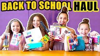 Back To School Supplies Haul 2017! (Haschak Sisters)