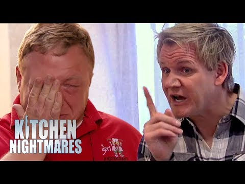Owner Breaks Down Into TEARS After Gordon Rips Into His Restaurant   Kitchen Nightmares