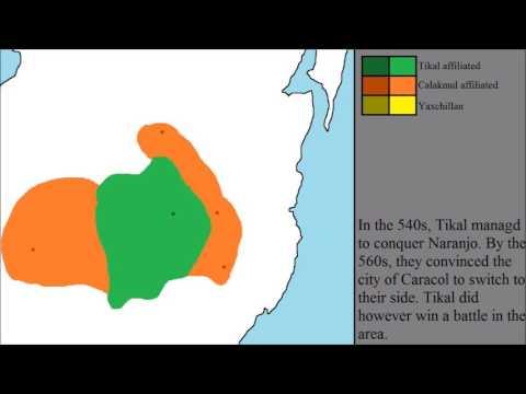 The Tikal - Calakmul Wars