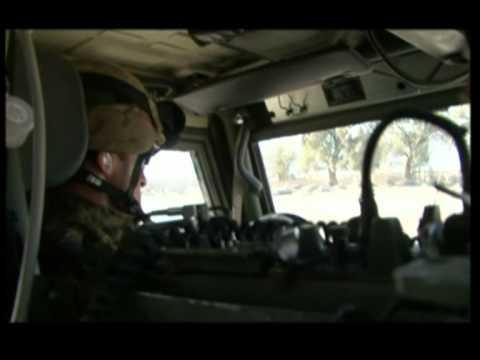 A bordo di un LINCE in AFGHANISTAN