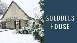 Joseph Goebbels WW2 House & Bunker Today