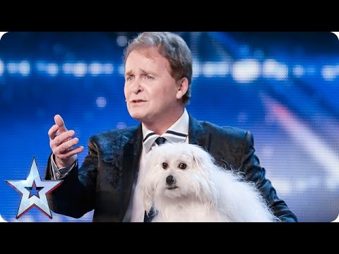 Marc Métral and his talking dog Wendy wow the judges Audition Week 1 Britain s Got Talent 2015