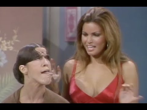 Gladys Asks Raquel Welch For Glamour Tips | Rowan & Martin's Laugh-In | George Schlatter