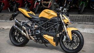 รีวิว ขาย Ducati Streetfighter 848 DP สีเหลือง รถสวยแท้ ฟรีดาวน์