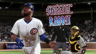 MLB The Show 18 Skeeter Rabbit Road To The Show (CF) Chicago Cubs vs Pirates MLB 18 RTTS