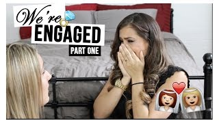 SURPRISE PROPOSAL VIDEO | WE'RE ENGAGED!!! | PART ONE.