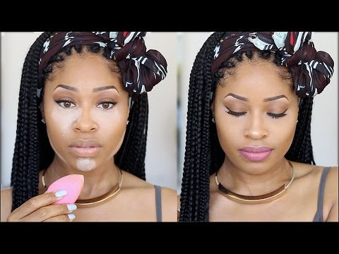 how to put on foundation and concealer for beginners