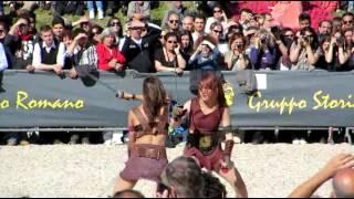 Female Gladiator Battle