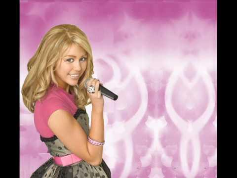 Hannah Montana Just a girl FULL w Lyrics