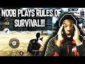 PLAYING RULES OF SURVIVAL FOR THE FIRST TIME IN MY LIFE!!! (ANDROID/IOS)