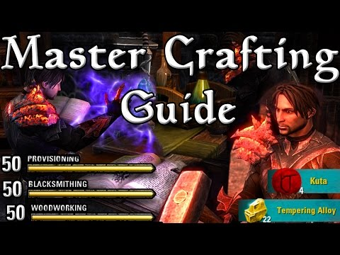 TOP 20 MASTER CRAFTING TIPS in ESO! (Elder Scrolls Online tips for PC, Xbox One, PS4)