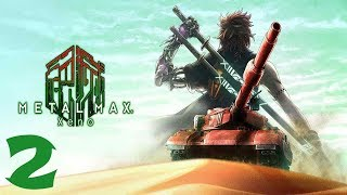 Metal Max Xeno Walkthrough Gameplay Part 2 - No Commentary (PS4 PRO)