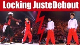 Locking dance style : A-Wei & A-Mei VS Max & Abdul