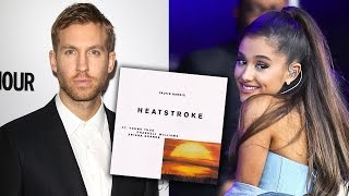 Calvin Harris TEASES New Song With Ariana Grande, Pharrell & Young Thug