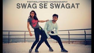 Swag Se Swagat Dance Choreography by Parthraj Parmar   Tiger Zinda Hai