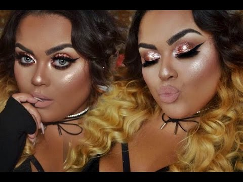 ♡COPPER AND NUDE FULL FACE TUTORIAL♡ |GABRIELLAGLAMOUR