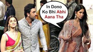 Katrina Kaif Ignores Alia Bhatt And Ranbir Kapoor At Ambani Ganesh Chaturthi Celebration 2019