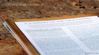 The John 7:17 Challenge: 21 A Summary of the True Gospel