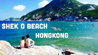 SHEK O BEACH, HONGKONG - HK TRAVEL VLOG #6