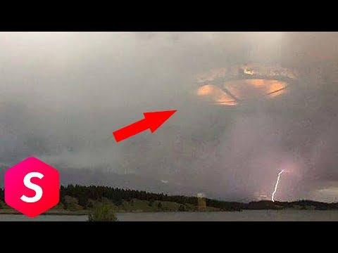 10 Penampkan Misterius di Langit yang Tertangkap Kamera, Bukti keberadaan Alien?