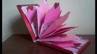Mini Album ( Scrapbook )  ( Manualidades Para San Valentin 2