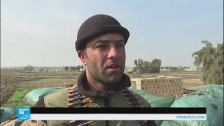 أمتار قليلة تفصل الجيش العراقي عن الجهاديين في الموصل