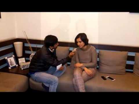 Actress Arpita Chatterjee with Rj Animesh on 91.9 Friends Fm kolkata