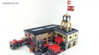 LEGO custom Fire Station MOC