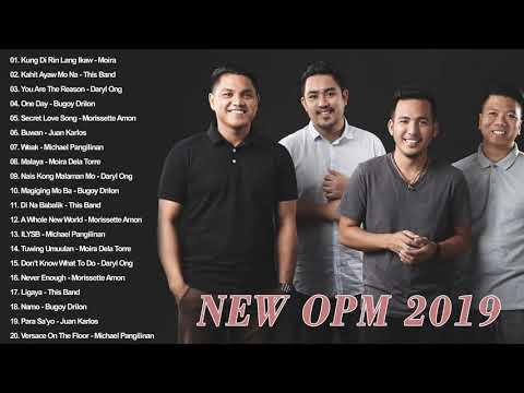 NEW OPM 2019 December Avenue Moira Dela Torre Michael Pangilinan Morissette Amon Daryl Ong