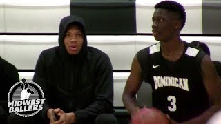 Alex Antetokounmpo BLOCKS SHOTS and GETS BUCKETS With Big Brother Watching