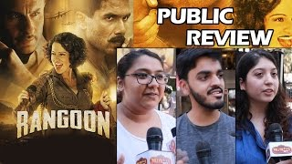 Rangoon Movie PUBLIC REVIEW | HIT Movie | Shahid Kapoor, Kangana, Saif Ali Khan