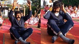 Balakrishna Yoga Asanas || International Yoga Day - Filmyfocus.com